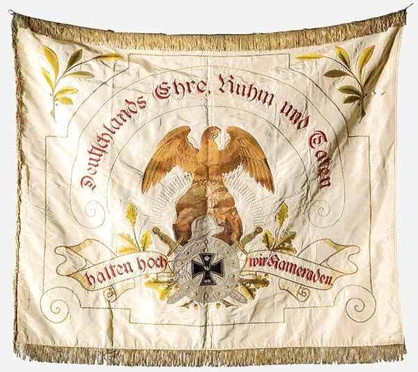 Estandarte de la Asociación de Veteranos de Sichertshausen 1924-1928